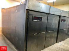 2019 LBC S/S Proofer Box, Model: LRP3-16PC with Cam Lock Panels