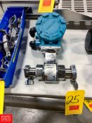 "Rosemount 1.5"" S/S Flow Meter, Model: 8721ASA015UA1NO, Clamp Type"