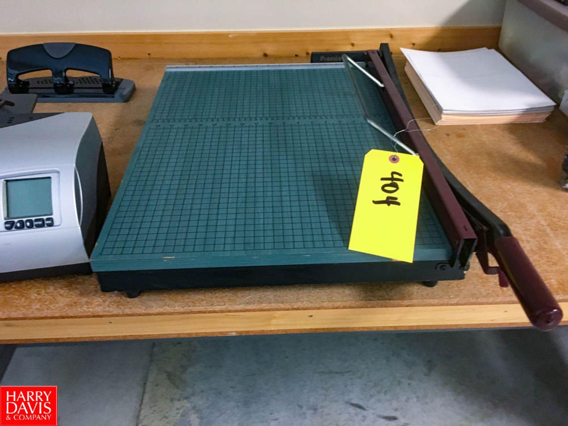 Paper Cutter Rigging: $25