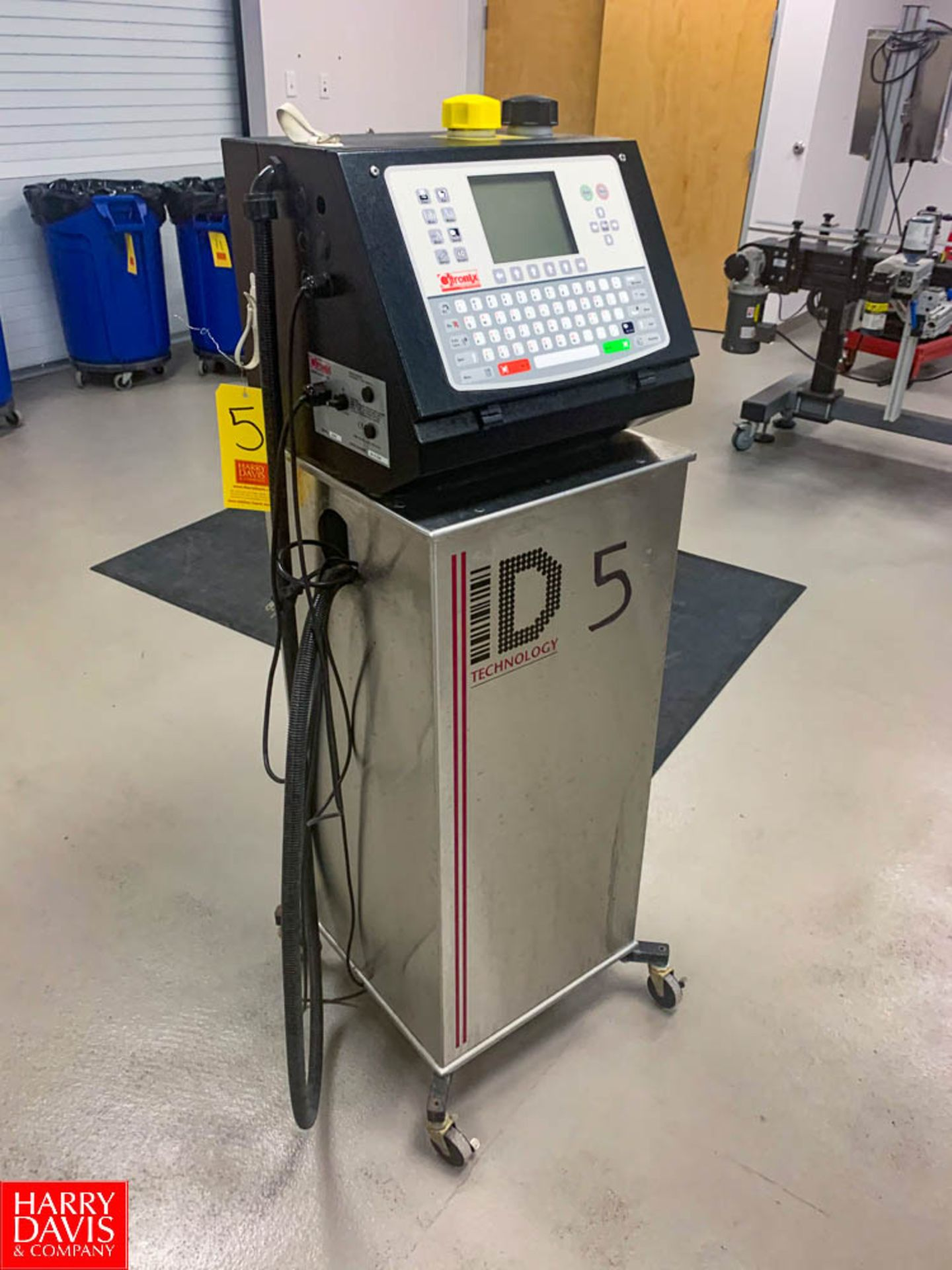 Citronix ID Technology Ink Jet Printer S/N: 0414134B Model: ci580 Rigging: $50