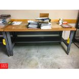 Work Table Rigging: $25