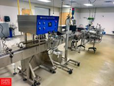 Inline Filling Systems S/S Cap Tightener With Conveyor S/N: 28011;Rigging: $250
