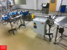 Nita Labeler, XP100, with Conveyor And S/S Accumulation Table; 200-240 Volts. S/N:784-01-0614