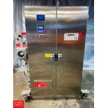 Pressurized 2-Door S/S Portable Control Panel