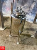 Apache Stainless 10 Gallon Jacketed S/S Tank