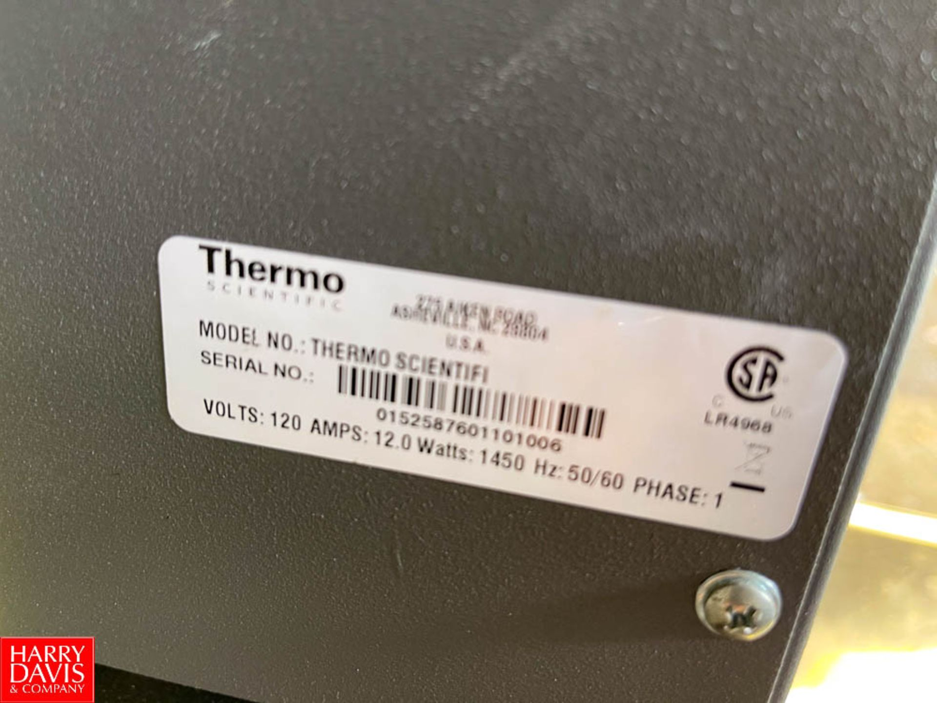 Thermo Scientific Industrial Benchtop Muffle Furnace - Image 2 of 2