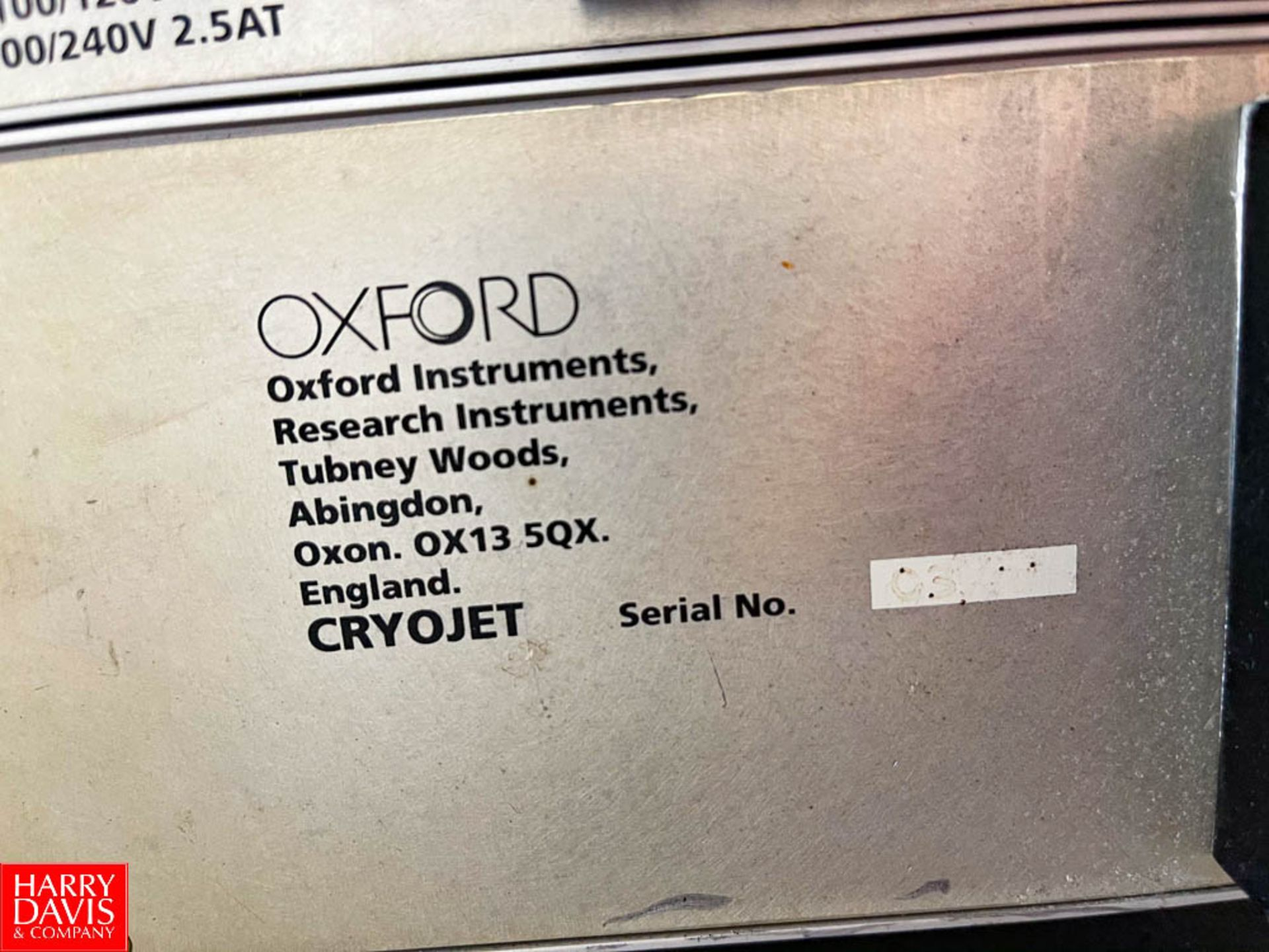 Oxford Instruments Cryojet Controller - Image 2 of 2