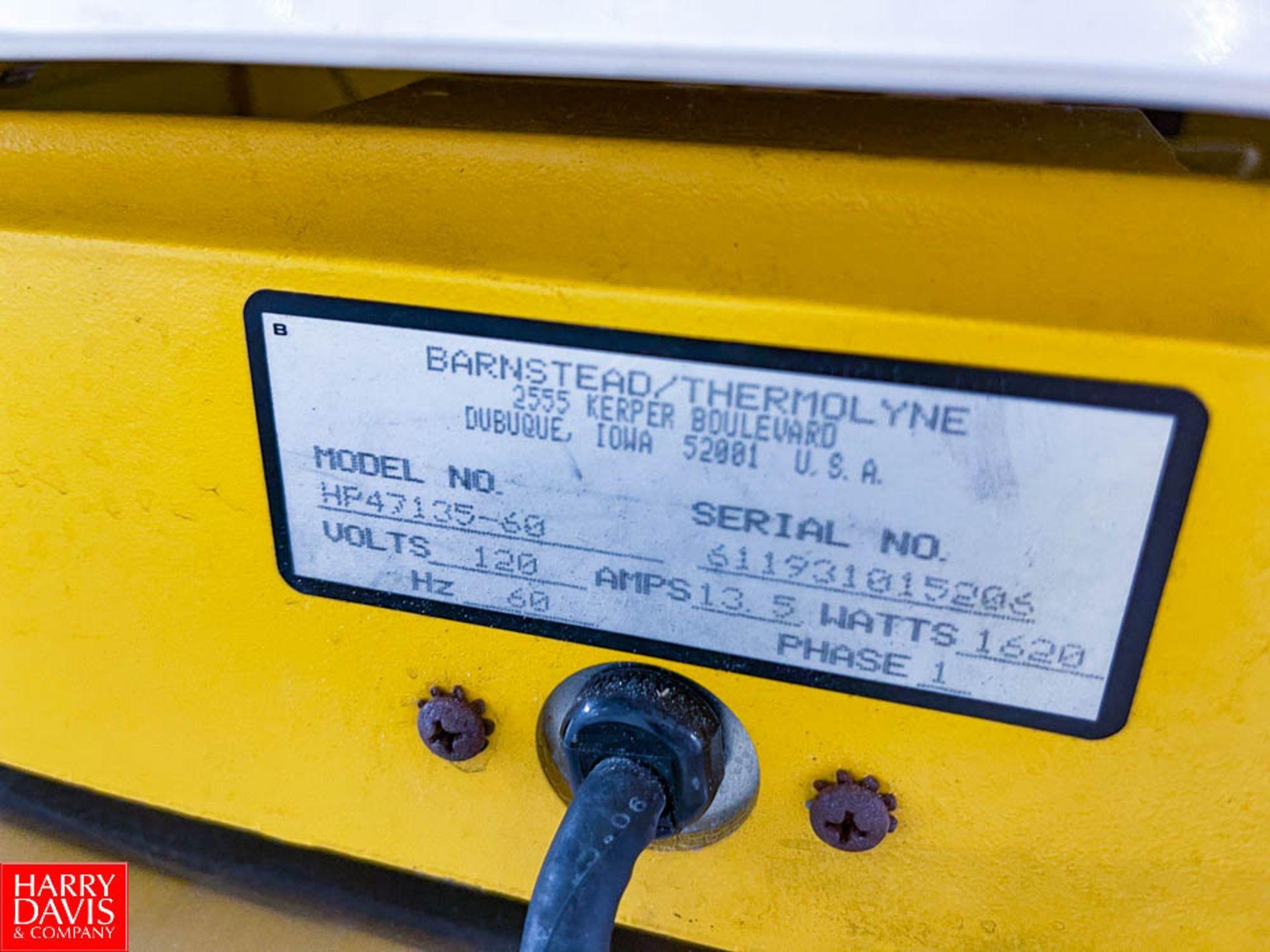 Barnstead Lab-Line Cimarec 3 Magnetic Hot Plate with Strirrer Model HP47135-60 - Image 2 of 2
