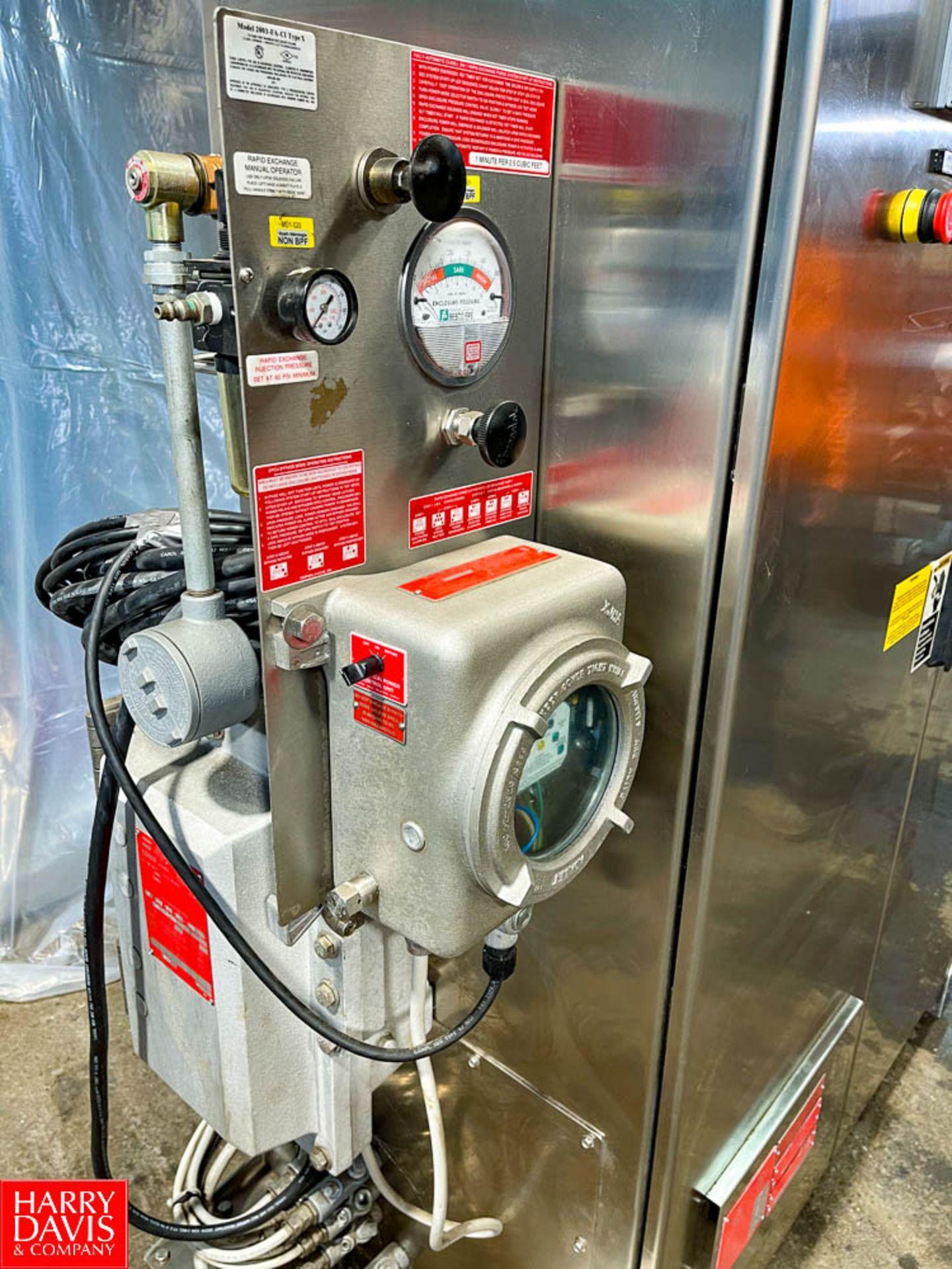 Pressurized 2-Door S/S Portable Control Panel - Image 4 of 7