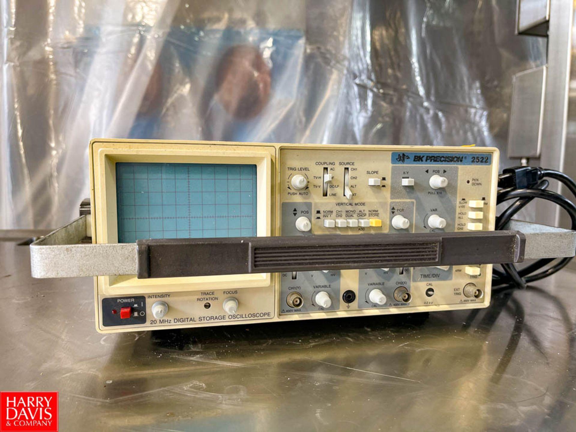 BK Precision Digital Storage Oscilloscope Model 2522
