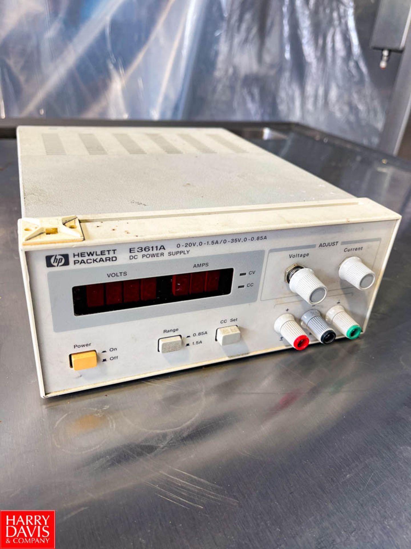 Hewlett-Packard DC Power Supply Model E3611A
