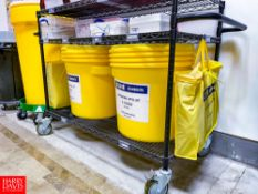 (2) Uline Universal Spill Kits Model S-12200 and (2) Uline 20 Gallon Universal Spill Kits Model S-