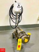"""TPT Centrifugal Pump, 1.5"""" Inlet and 1.5"""" Outlet, with S/S Clad 2 HP 2,860 RPM Motor and KB"""