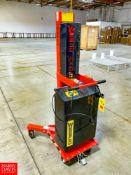 Wesco Ergonomic Power Lift Drum Handler Model DM-1100-PL, 1,100 LB Capacity. Rigging Fee: $75