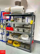 """5-Shelf Metal Rack, 61"""" Width x 37"""" Depth x 72"""" Height *Contents Included. Rigging Fee: $125"""
