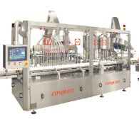 NEW NEVER INSTALLED 2020 Capmatic Conquest FCP 12-8-8 Continuous Motion High-Speed Monoblock Filling