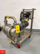 2019 Graco S/S Diaphragm Pump Model SE2B.0336, with Nord 5 HP Motor, Nord Gear Reducer, Allen