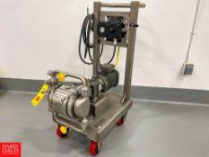 2019 Graco S/S Diaphragm Pump Model SE1B.0012, with SEW Eurodrive 2 HP Motor, SEW Eurodrive Gear