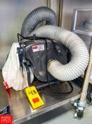 Dayton Portable Dust Collector Model 3AA30B and Portable Air Mover. Rigging Fee: $100