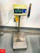 Uline 330 LB Capacity Digital Scale Model H-670. Rigging Fee: $75