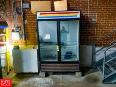 TrueDouble Glass Door Refrigerator And Chest Freezer Rigging Fee: $ 150