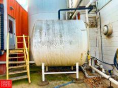 2,000 Gallon Horizontial Tank Rigging Fee: $ 1550