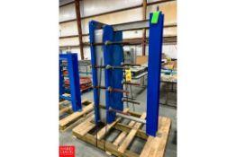 APV Plate Heat Exchanger Model: R5 MGS-16, S/N: 20013003000674 Rigging Fee: $200