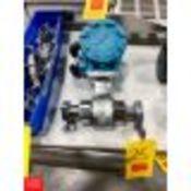 """Rosemount 1.5"""" S/S Flow Meter, Model: 8721ASA015UA1NO, Clamp Type Rigging Fee: $10"""