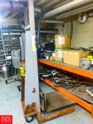 Portable Shop Lift Rigging Fee: $ 100