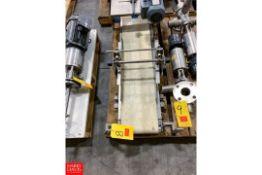 """Hellings 9.75"""" X 44.5"""" S/S Frame Power Belt Conveyor Rigging Fee: $25"""