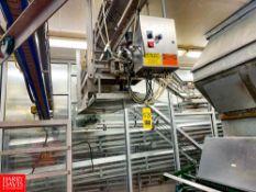 Overhead Gallon Jug Conveyor With Controls Rigging Fee: $ 1550