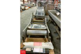 "Meyer 22' Long X 32"" Wide S/S Frame Belt Conveyor Model: FSW-990-24, S/N: 973 Rigging Fee: $100"