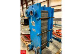APV Plate Heat Exchanger Model: SR6GLO, S/N: 24984 Rigging Fee: $150