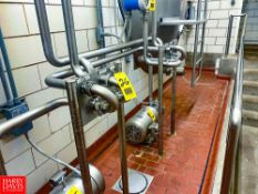 S/S Flowverter Stations, Clamp Type, With Jumpers Rigging Fee: $ 75