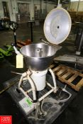 "Stephan Machinery Vertical Cutter Mixer Model: VCM40, 20"" Dia. X 11"" Bowl, 5.5/7.5 kw, 1750/3500"