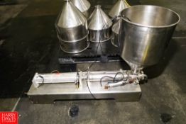"""Packline Pneumatic Piston S/S Pump 3"""" Inlet/Outlet . Rigging Fee: $ 25.00"""