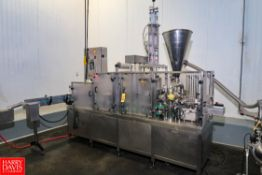 2012 PackLine Model: PXG-2 S/N: PL700523, Operated at 40 – 50 per Minute with Allen Bradley PLC