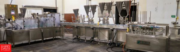 2015 PackLine Cup / Tray Filling Line with Modified Atmospheric Packaging Tamper Evident