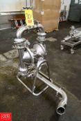 Graco S/S Diaphragm Pump Model: SB3661 S/N: A5026088 04E17E Series, 150 GPM/568 Liters/min, 120 PSI/