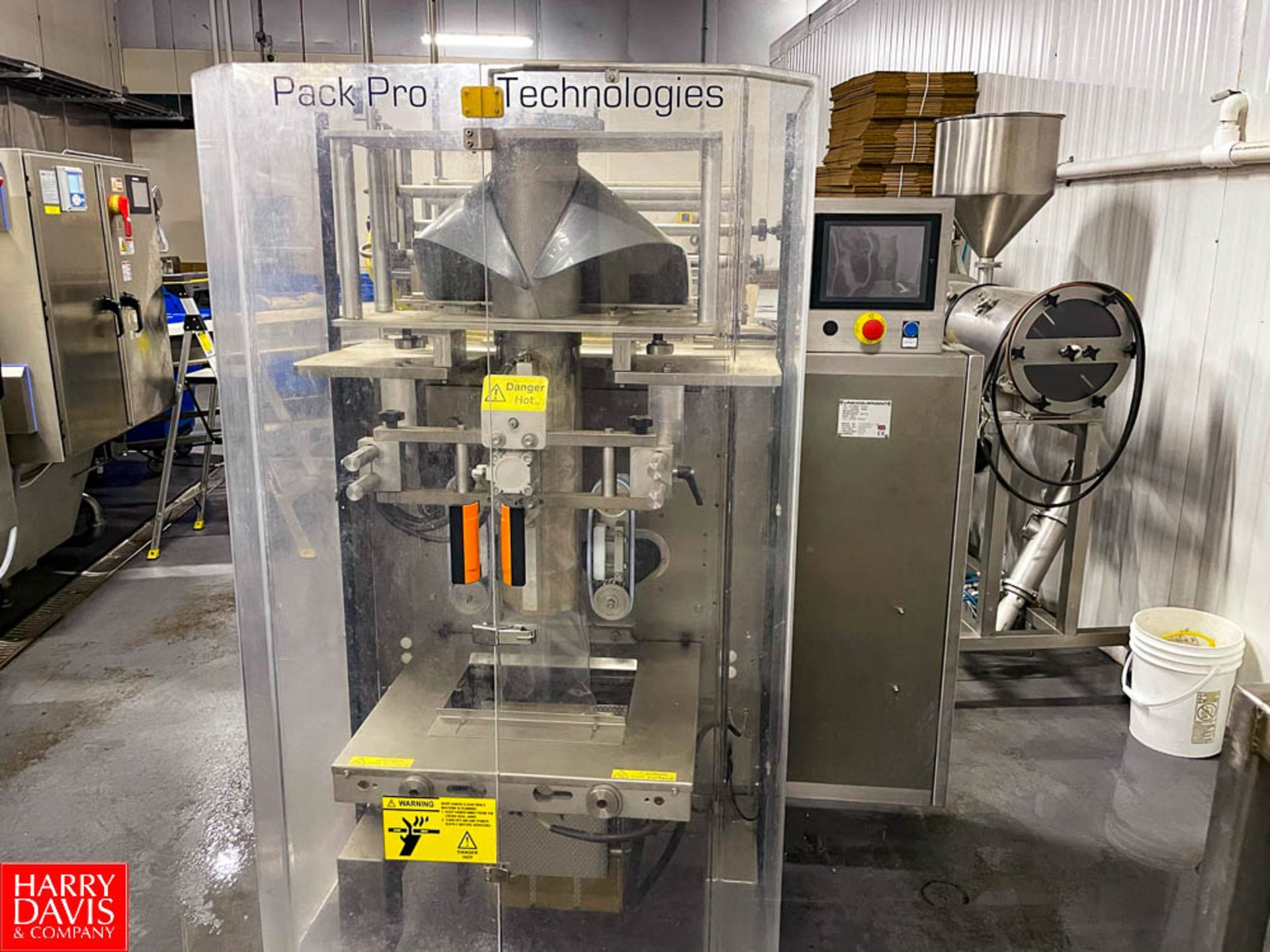 2015 ProPack Technologies Vertical Form Fill and Seal Bagging Machine Model: DV2000 SN: F000-0710 - Image 3 of 18