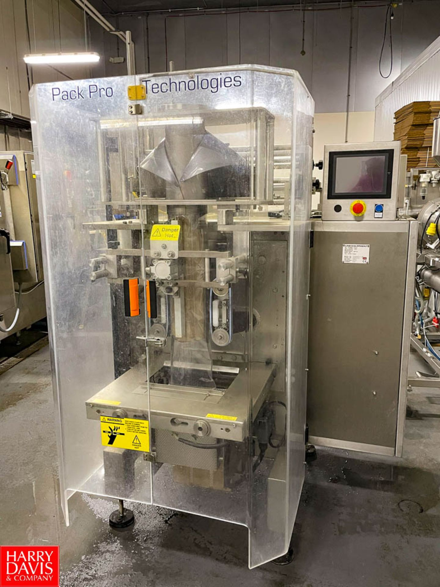 2015 ProPack Technologies Vertical Form Fill and Seal Bagging Machine Model: DV2000 SN: F000-0710 - Image 2 of 18