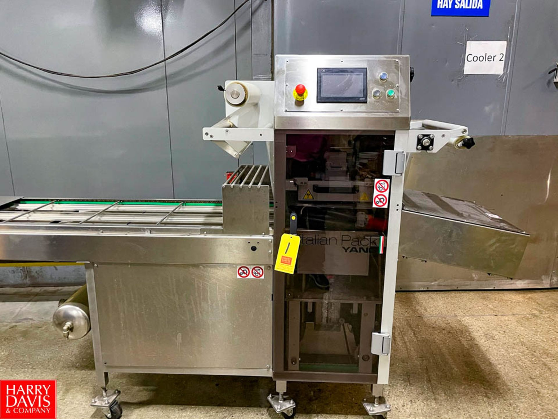 2015 Italian Pack Fully Automated Tray Packer Model: Perseus SN:159520 Type Perv060SI1.65URBFpv - Image 5 of 5