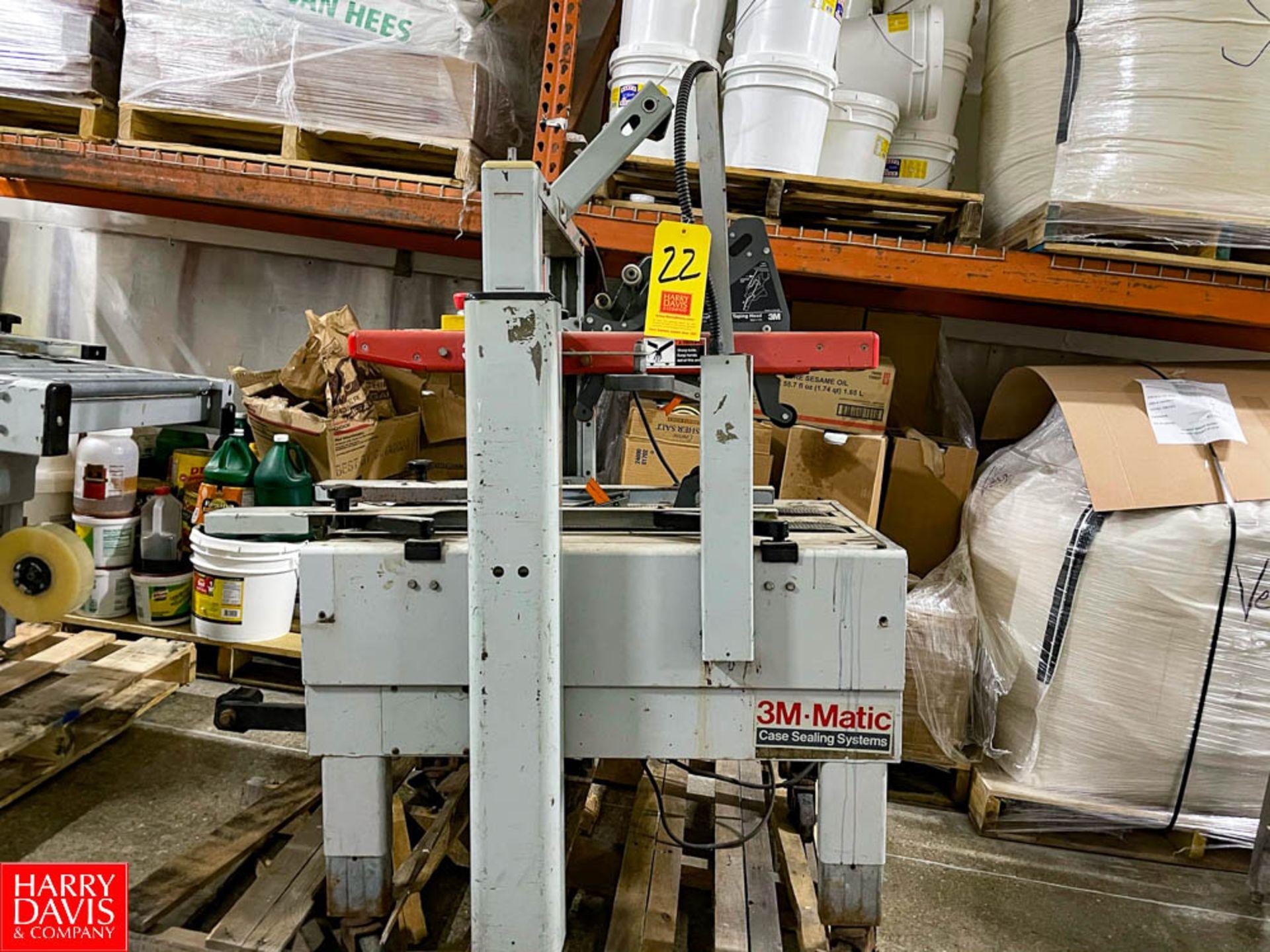 3M-Matic Case Taper Model: 200a SN: 10492, Type: 39600. Rigging Fee: $125