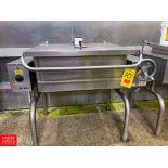 Groen 30 Gallon S/S Electric Tilt Skillet. Rigging Fee: $325