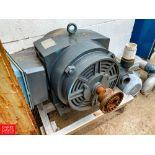 Leeson 150 HP 3,555 RPM Motor. Rigging Fee: $ 125