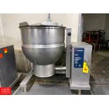 2012 Groen 60 Gallon Jacketed S/S Kettle Model: DTE/4-60 SN: 91251. Rigging Fee: $750