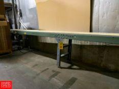"Hytrol 20' Length x 12"" Width Belt Conveyor with Drive and Allen Bradley Powerflex 40 Variable"