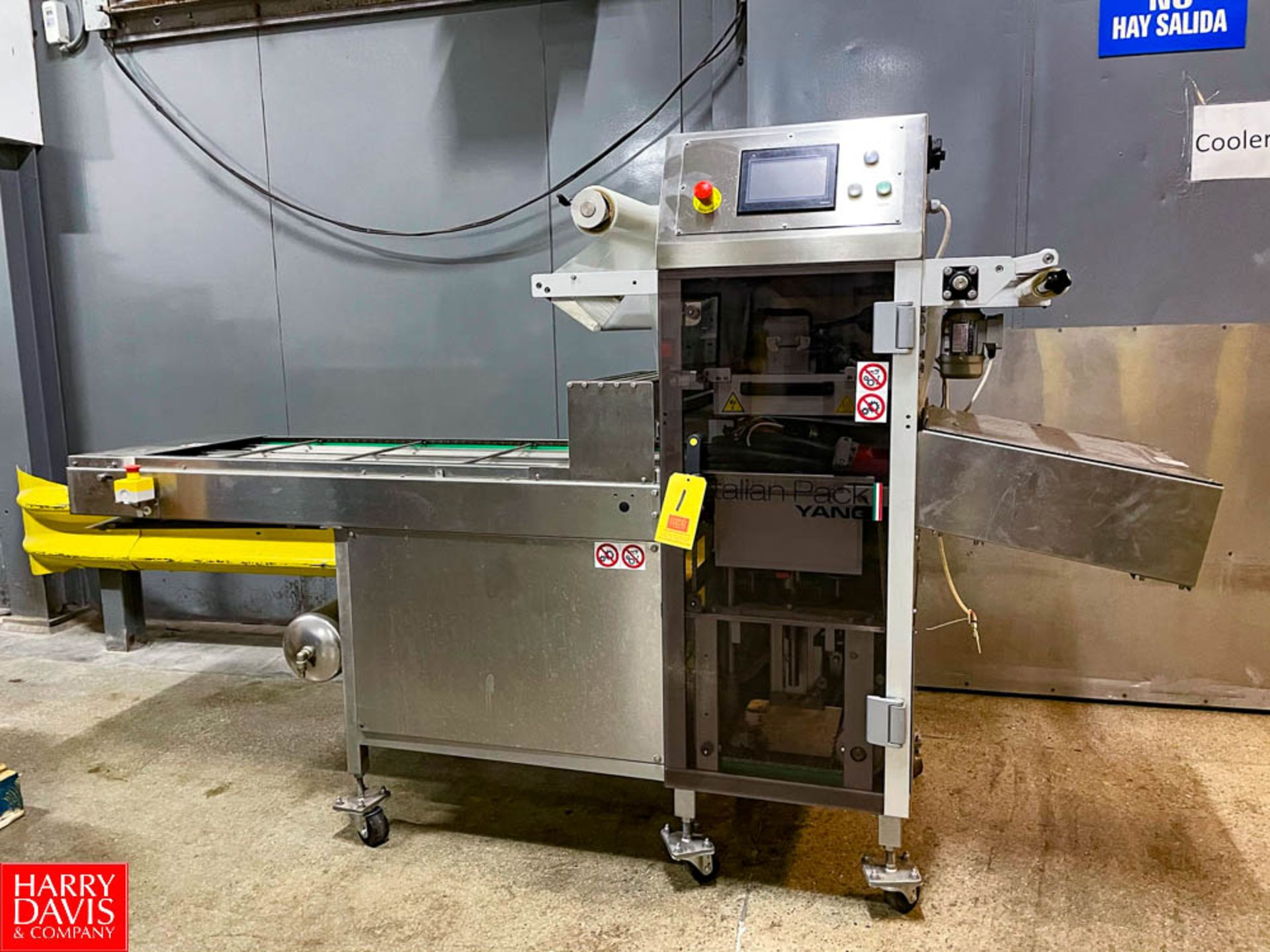 2015 Italian Pack Fully Automated Tray Packer Model: Perseus SN:159520 Type Perv060SI1.65URBFpv
