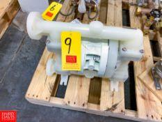 NEW Wilden Polypropylene Diaphragm Pump Rigging Fee: $ 40