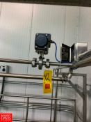 """1"""" S/S Air-Actuated Valves, Clamp Type Rigging Fee: $ 75"""